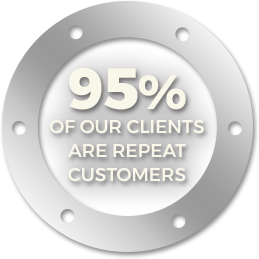 95% of our Clients are Repeat Customers